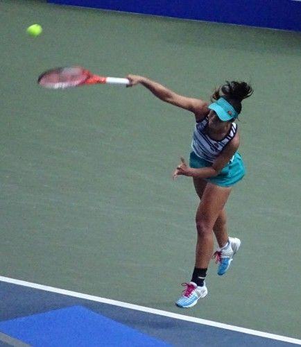 東レ パン・パシフィックオープン・テニス 予選決勝 日比野菜緒