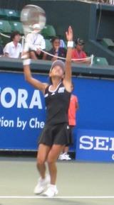 クルム伊達公子 東レ パン・パシフィック・オープン・テニス