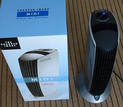フィルター交換不要の空気清浄機  イオニックブリーズ MIDIを購入 花粉症対策