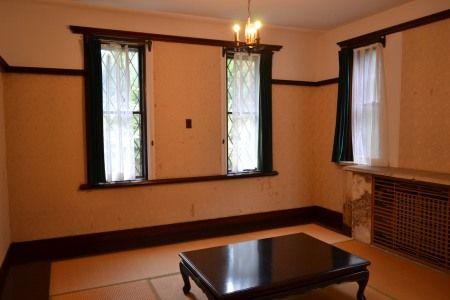 鎌倉 旧華頂宮邸 秋の施設公開 室内