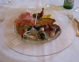 箱根のレストラン アルベルゴバンブーの料理