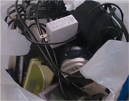 携帯電話やデジカメを都庁の回収ボックスへ オリンピックメダルに利用されます