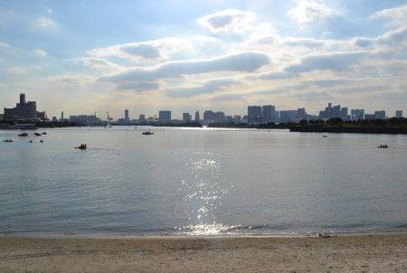 お台場の海浜公園