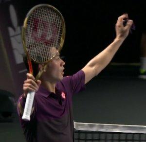 モゼール・オープンの2回戦で錦織圭が勝利 準々決勝へ