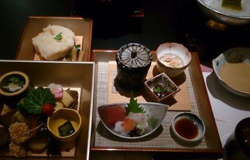 銀座 ジーキューブの日本料理「柿安」