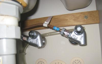 洗面台の水道の水漏れ修理