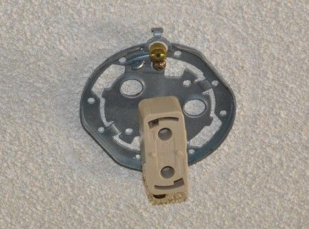 シーリング型のライティングバー Uタイプ 天井