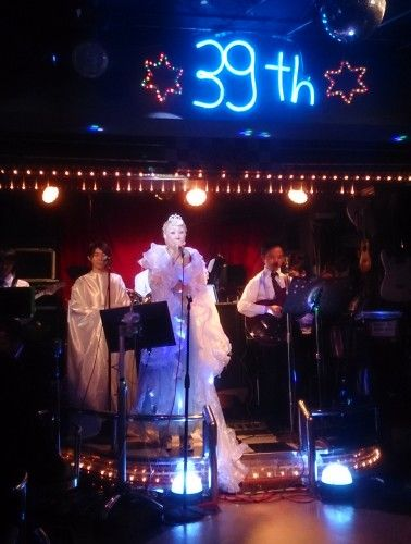 新宿のライブハウス21世紀 マーヤー・カミュさんのショー