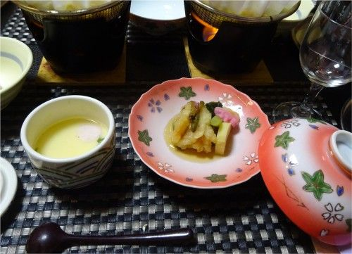 石和温泉の旅館慶山のお食事