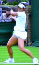 ウィンブルドンテニス シングルス一回戦 土居美咲が敗退