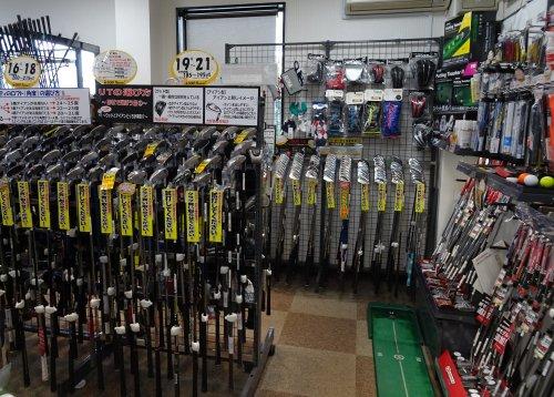 ゴルフパートナーの王子サンスクエアゴルフ店で試打してドライバーを購入