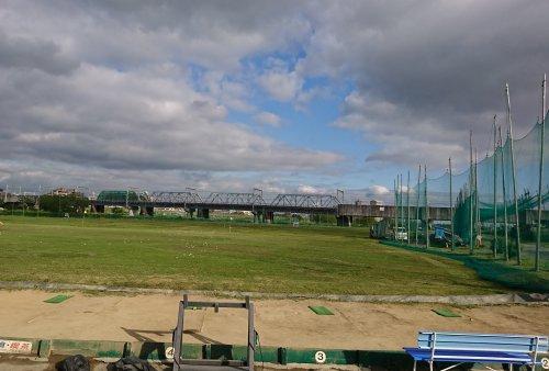 目黒線の新丸子駅近くの丸子橋ゴルフ練習場