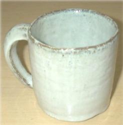 趣味の陶芸作品 カップ