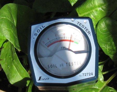 土壌酸度計 シンワ SOIL TESTER