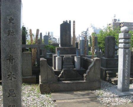 青木昆陽のお墓