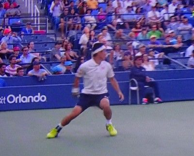 全米オープンテニスのシングルス4回戦 錦織圭が勝ち、マレーとの準々決勝へ