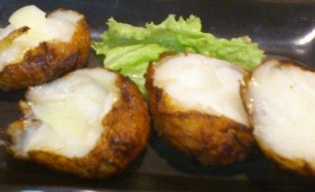 南新宿 長崎の郷土料理のお店「利代」 玉ねぎのさつま揚