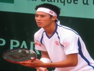 錦織圭 全仏オープンテニス