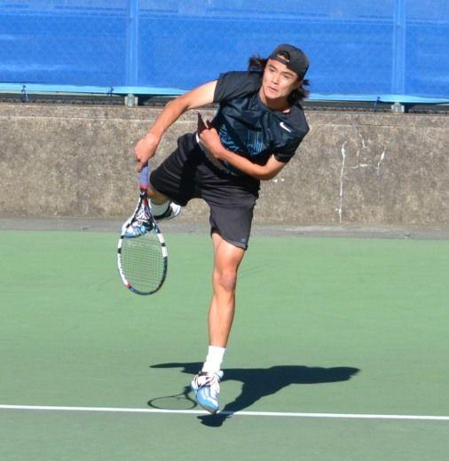 ダニエル太郎が準決勝へ 慶應チャレンジャー国際テニストー ナメントのシングルス準々決勝に勝利
