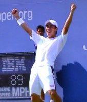 全米オープンテニス シングルス準決勝 錦織圭がジョコビッチに勝利