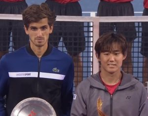 深セン・オープンのシングルス 西岡良仁が優勝