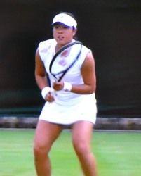ウィンブルドン テニス シングルス一回戦 森田あゆみが敗退