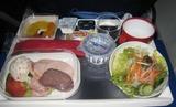 エアーフランスの機内食