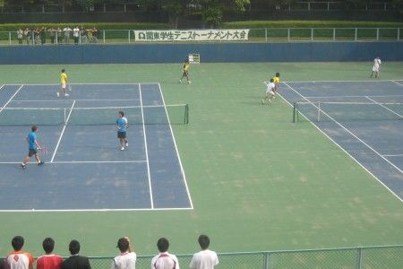 有明テニスの森 関東学生テニストーナメント