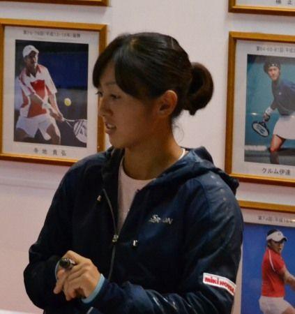 土居美咲 サイン会 ニッケ全日本テニス選手権