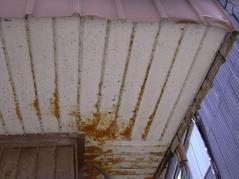 新潟県三条市屋根外壁リフォーム専門店 遠藤組 軒裏の張替