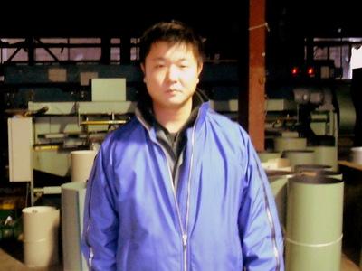 新潟県三条市屋根外壁リフォーム専門店遠藤組 タッチこと坪谷です。