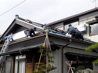 新潟県三条市屋根外壁リフォーム専門店遠藤組 燕市屋根葺き替え工事