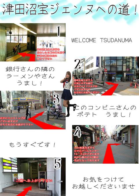 津田沼への道1