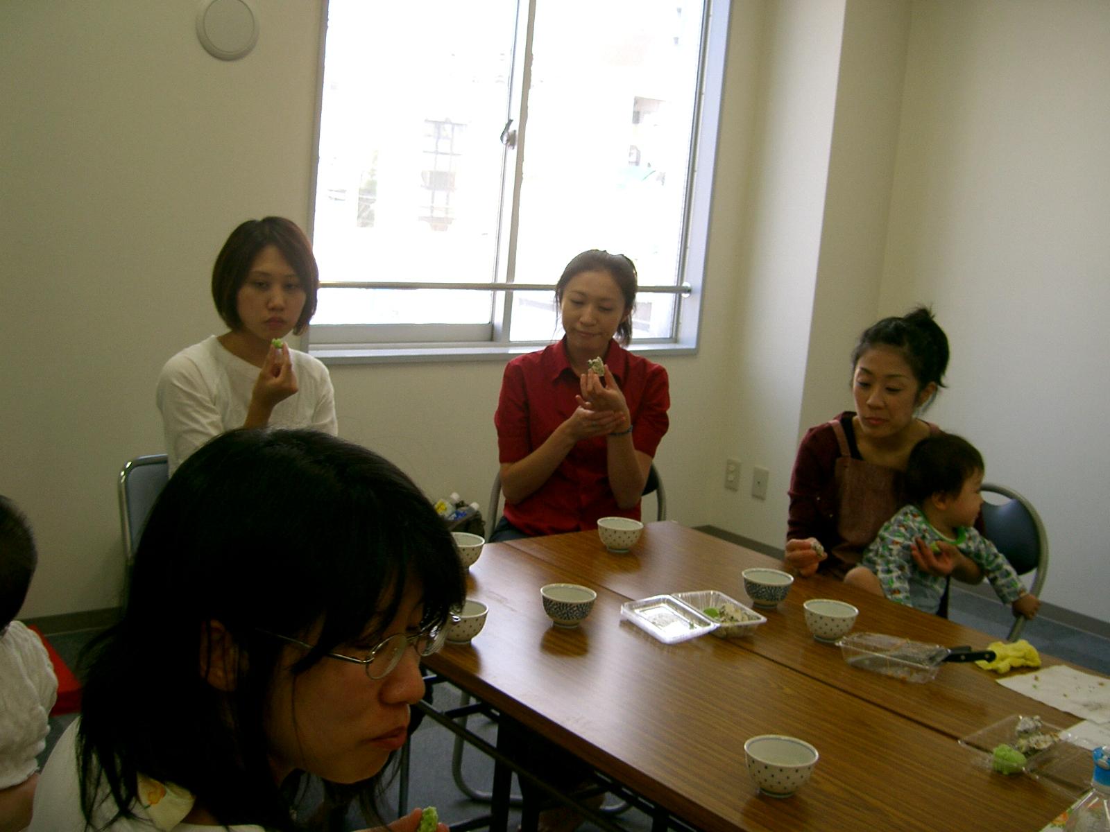 郷土のお菓子作り(9月)�
