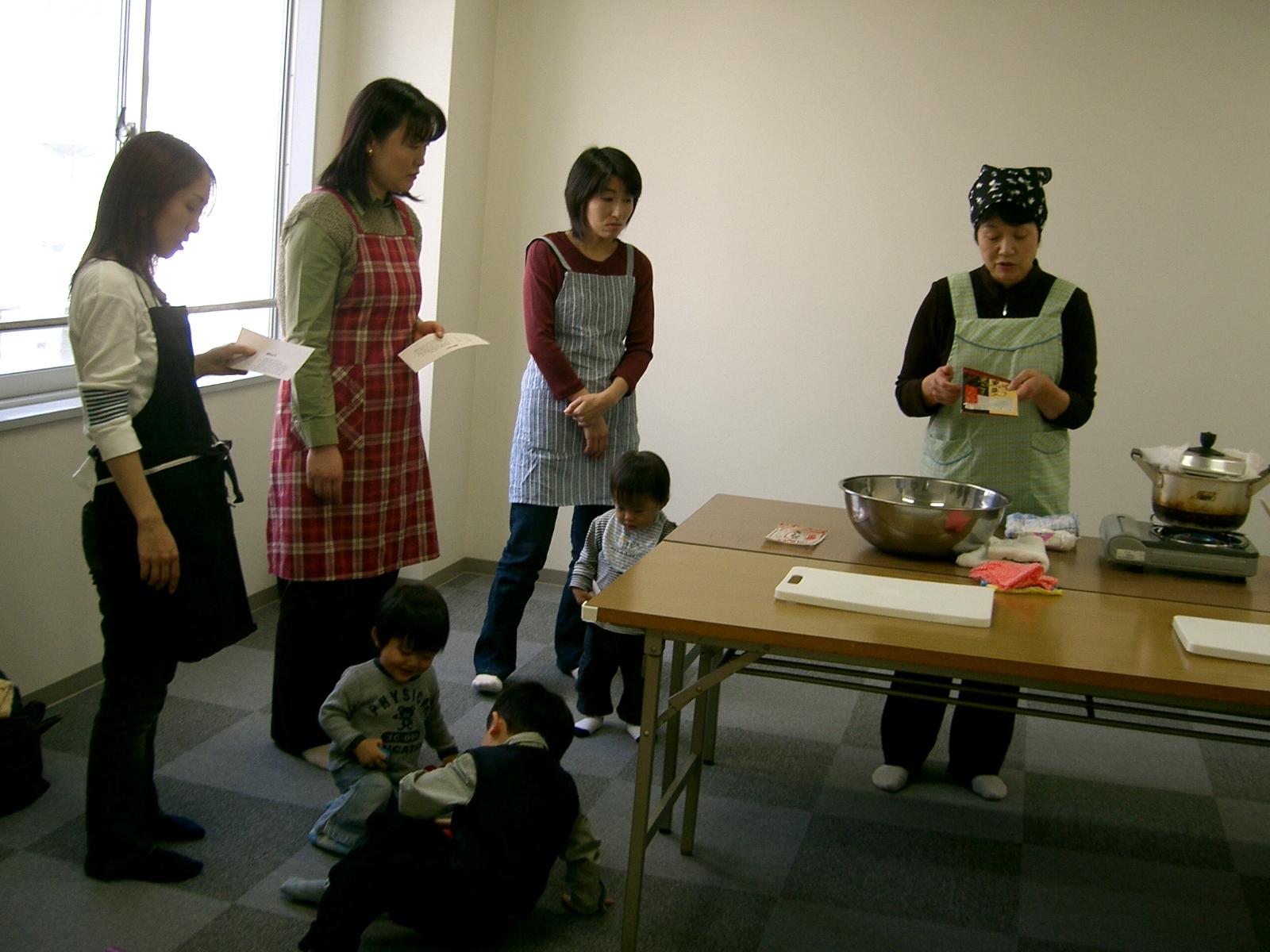 郷土のお菓子作り(10月)�