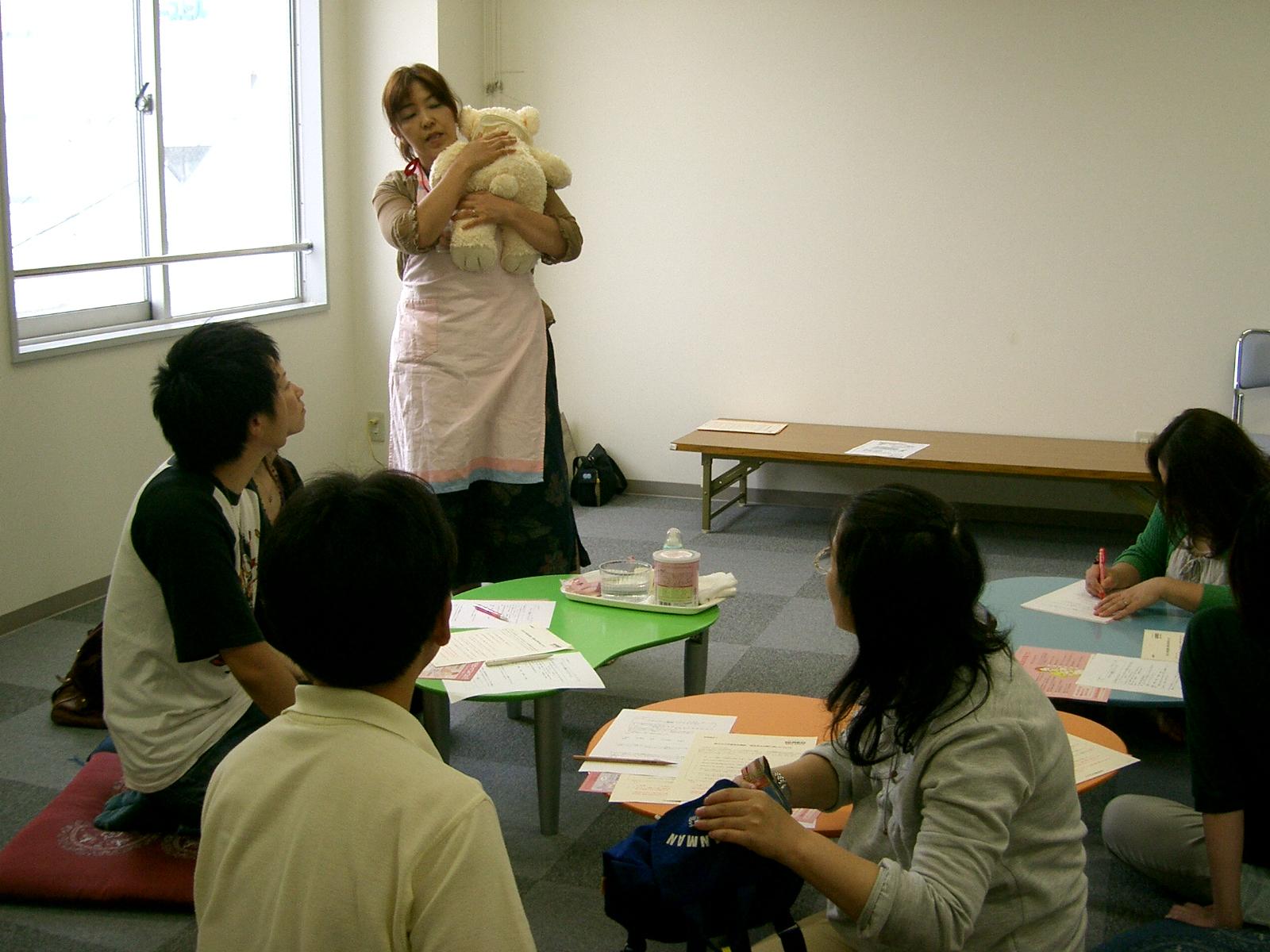 マタニティー教室1