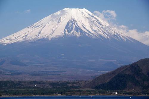 本栖湖からの富士山-5