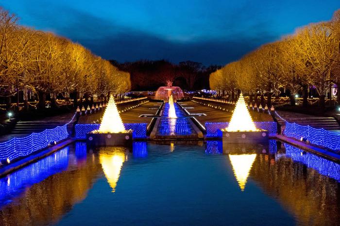 昭和記念公園ジュエルイルミネーション2017