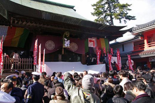 高幡不動尊2010元旦-4