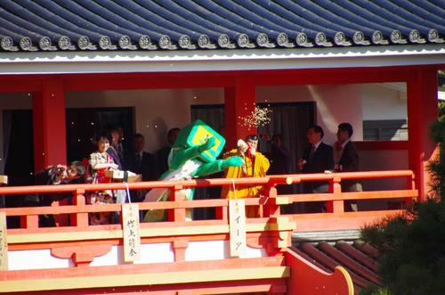 高幡不動尊節分会2013-1