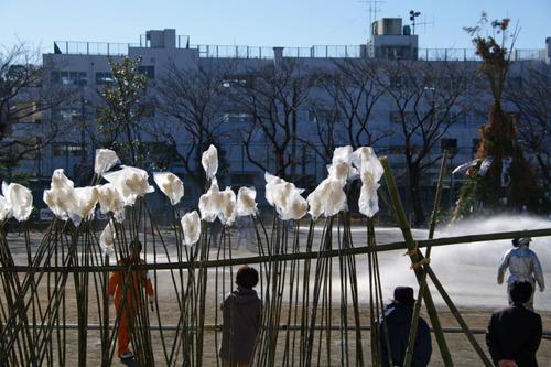 どんど焼2011-8