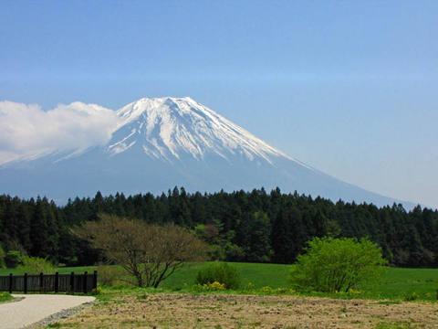 朝霧高原富士山-2