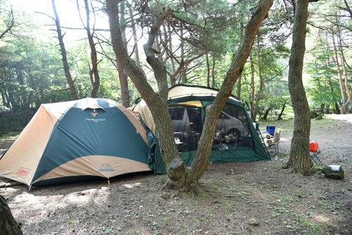 本栖湖キャンプ場201508-1