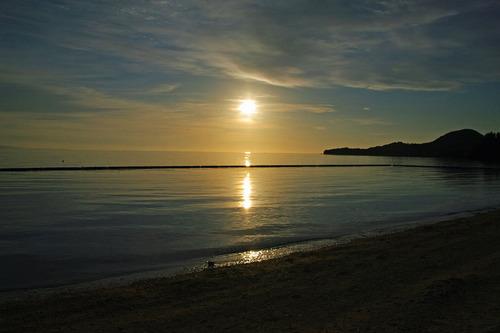石垣島の夕暮れ201008-9