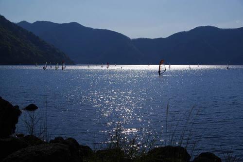 本栖湖キャンプ場201005-6