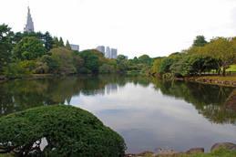 新宿御苑の風景-1