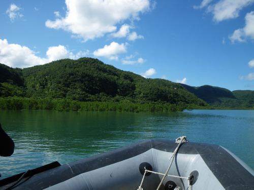 西表島ナーラの滝201108-3