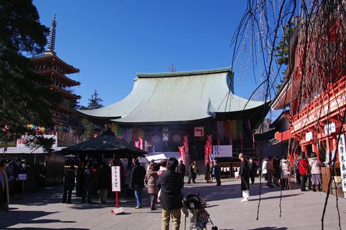高幡不動尊20100116-3
