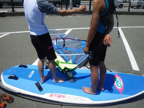ウインドサーフィン201107-6
