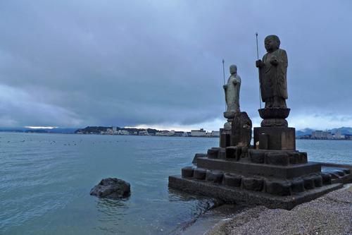 宍道湖の夕景201212-6